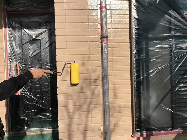 広島県東広島市 外壁塗装 下地処理 水谷ペイント ナノコンポジットW