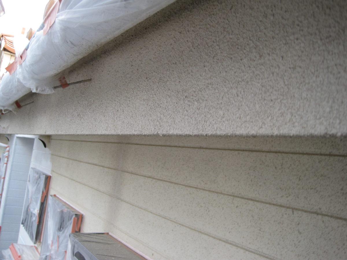 広島県東広島市 外壁塗装 屋根補修 破風塗装完成写真