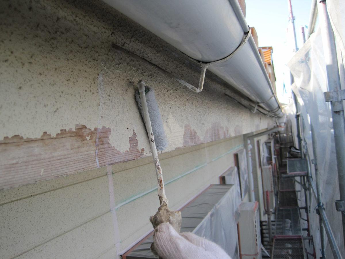 広島県東広島市 外壁塗装 屋根補修 破風板補修の画像
